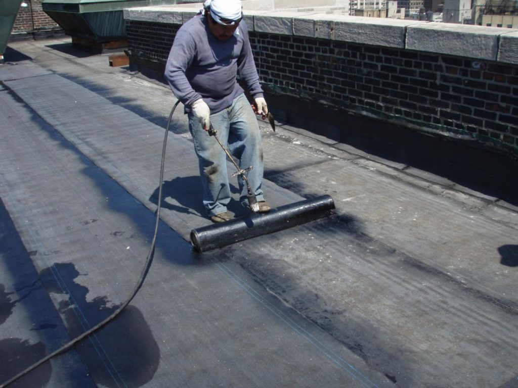 Commercial Roofing Company In Fort Wayne Flat Roof